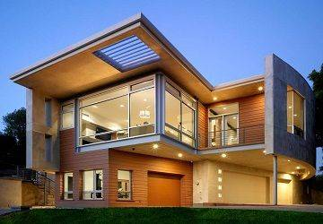 Amazing Design Exterior House in thin Concept