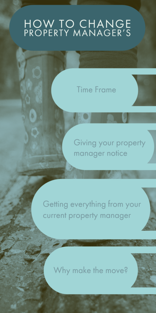 Changing Property Managers is easy, Asset Agents