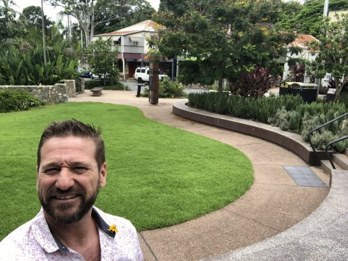 best investment suburbs sunshine coast - Byron in front of Palmwoods Village Green