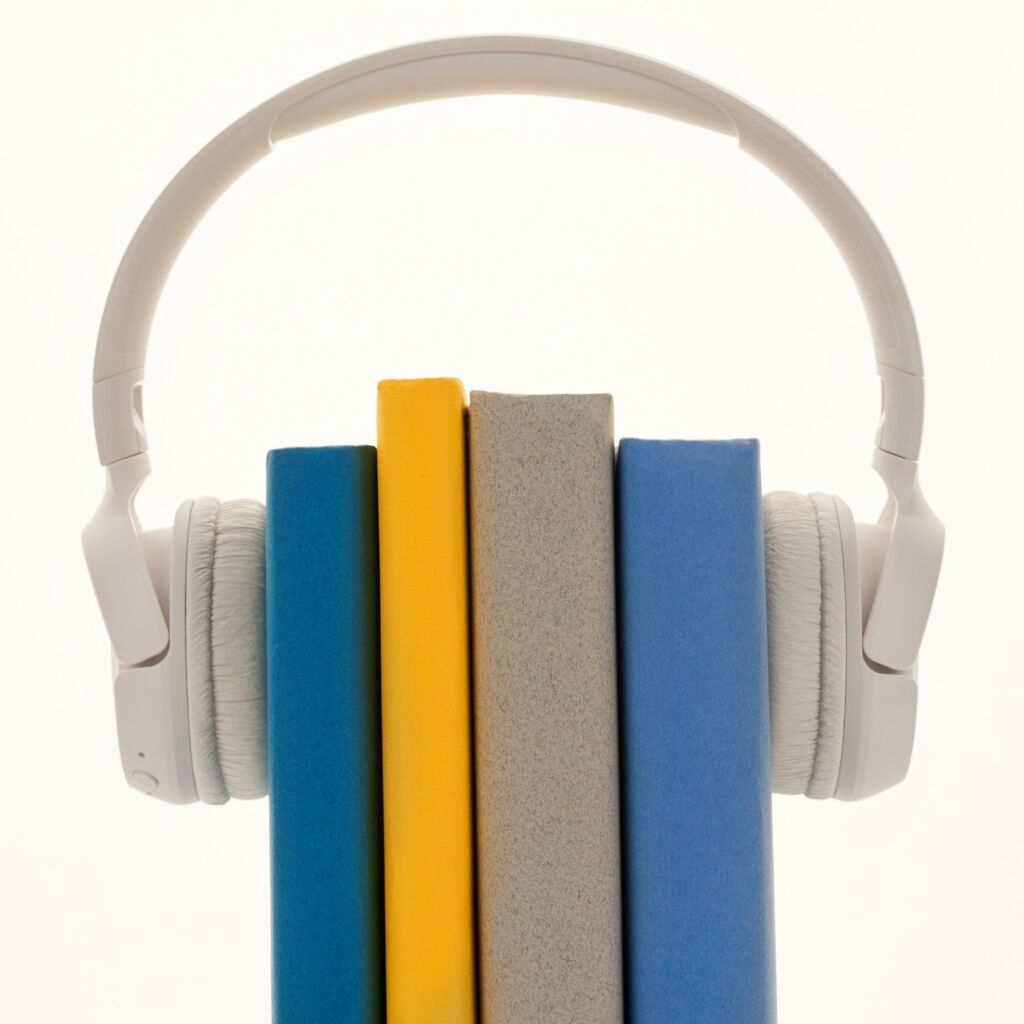 conceptual photo of a headset