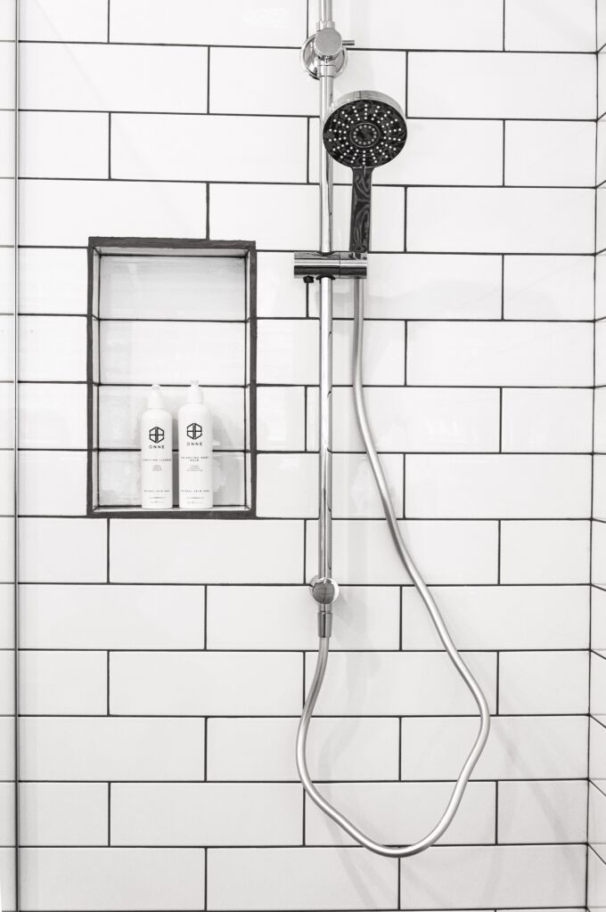 bathroom with shower head