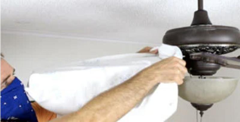 Cleaning Dusty Fan