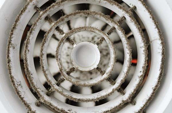 Dusty Bathroom Exhaust Fan