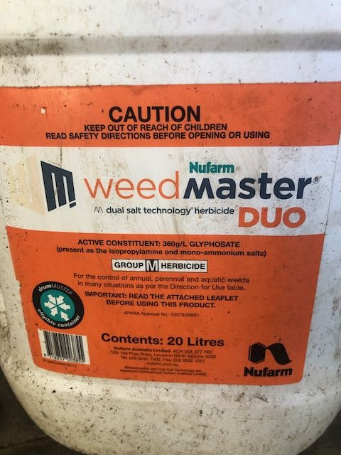 zero weed killer for occupants to maintain the yard